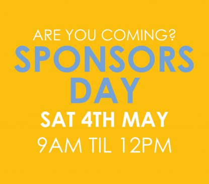 SPONSORS DAY 4TH MAY