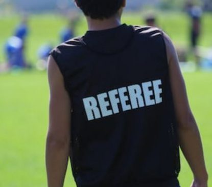 WANT TO BE A  REFEREE?